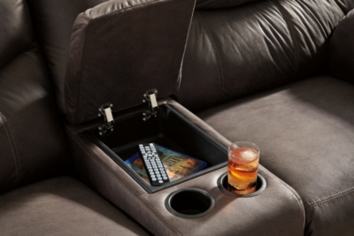 Blakely Reclining Loveseat with Console