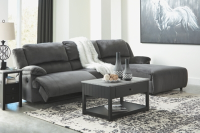Cain 3-Piece Reclining Sectional with Chaise