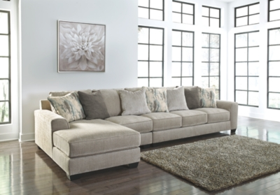 Alexandria 3-Piece Sectional with Chaise