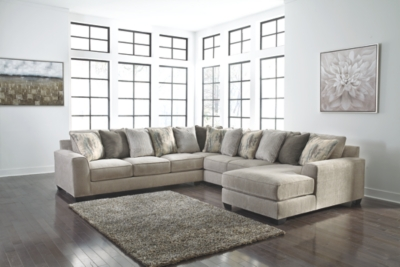 Alexandria 4-Piece Sectional with Chaise