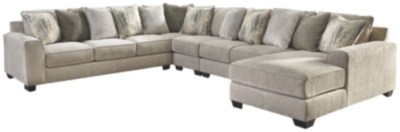 Alexandria 5-Piece Sectional with Chaise