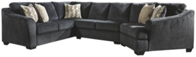 Eltmann 3-Piece Sectional with Chaise and Cuddler