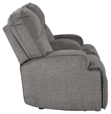 Cyprus Power Reclining Loveseat with Console