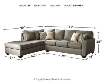 Camden 2-Piece Sectional with Chaise