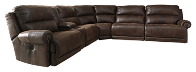 Luttrell 5-Piece Reclining Sectional