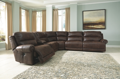 Luttrell 6-Piece Power Reclining Sectional
