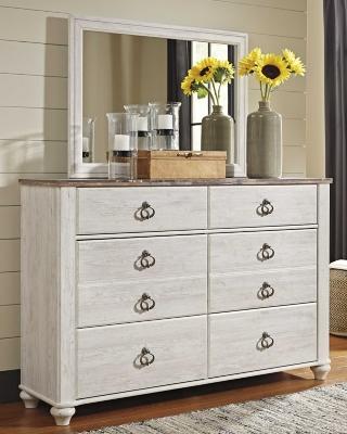 Westley Dresser and Mirror
