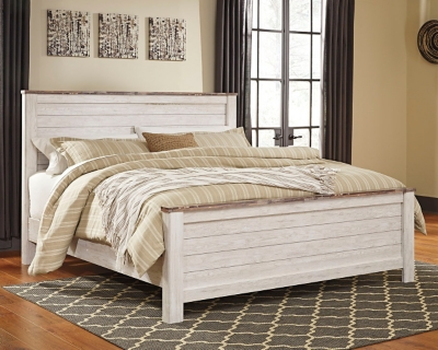 Westley King Panel Bed
