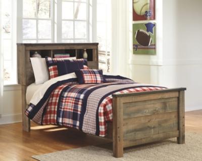 Trenton Twin Bookcase Bed