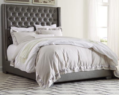 Carina Queen Upholstered Bed