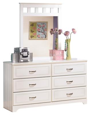 Lebec Dresser and Mirror