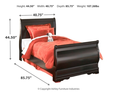 Hanford Twin Sleigh Bed