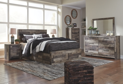 Dover Queen Panel Bed with 6 Storage Drawers