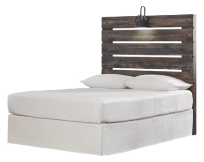 Davis Full Panel Bed with 2 Storage Drawers