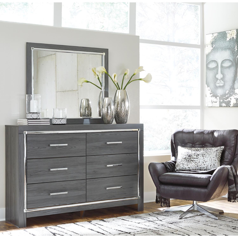 Larkspur Dresser and Mirror