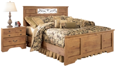 Bastron Queen Panel Bed