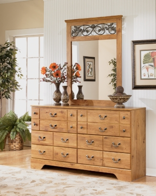 Bastron Dresser and Mirror
