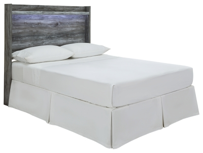 Bixton Full Panel Bed with 4 Storage Drawers