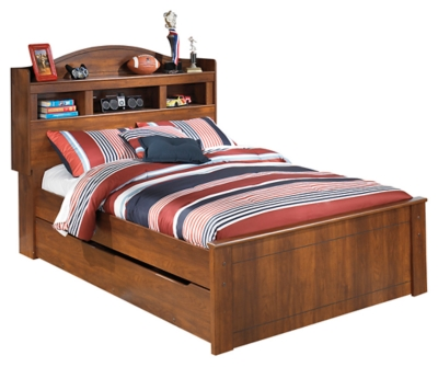 Barner Full Bookcase Bed with Trundle