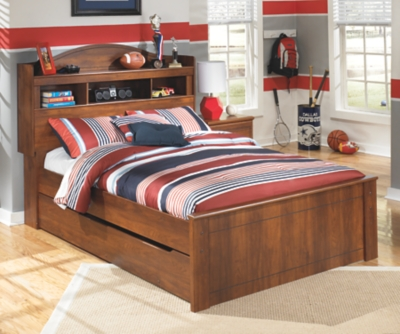 Barner Full Bookcase Headboard