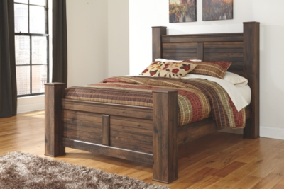 Quincy King Poster Bed