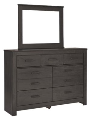 Berfin California King Panel Bed with 2 Storage Drawers