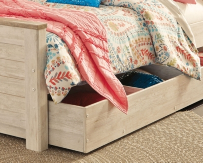 Westley Twin Panel Bed with 1 Large Storage Drawer