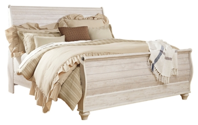 Westley King Sleigh Bed