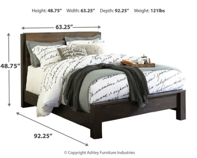 Williams King Panel Bed