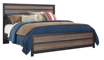 Harrison King Panel Bed
