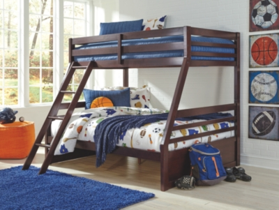 Hardwick Twin over Full Bunk Bed with 1 Large Storage Drawer