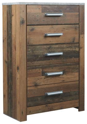 Cane Chest of Drawers