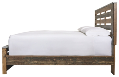 Cane King Panel Bed