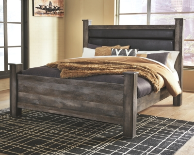 Winterhaven King Panel Bed