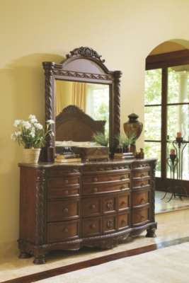 Niland Dresser and Mirror