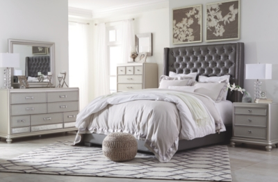 Carina California King Upholstered Bed