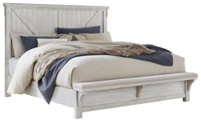 Barnaby King Panel Bed
