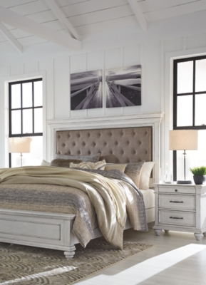 Keene California King Panel Bed