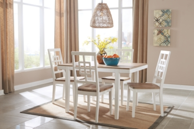 Banning Dining Room Table and Chairs (Set of 5)