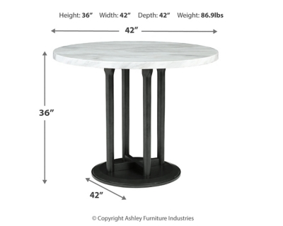Camino Counter Height Dining Room Table