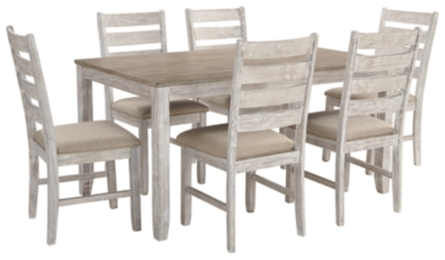 Shawnee Dining Room Table and Chairs (Set of 7)
