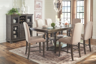 Adelonto Counter Height Dining Room Extension Table