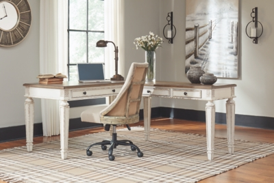 Redding 2-Piece Home Office Lift Top Desk