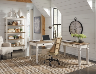 Redding 2-Piece Home Office Desk