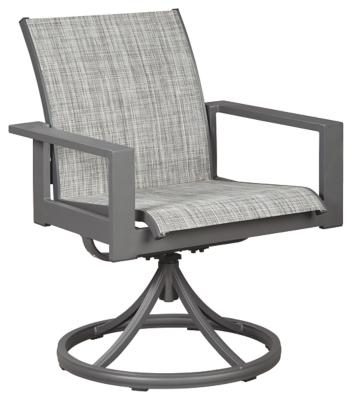 Okada Sling Swivel Chair (Set of 2)
