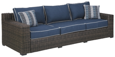 Grasson Lane Sofa with Cushion