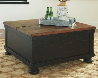 Volta Coffee Table with Lift Top
