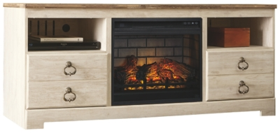 "Westley 64"" TV Stand with Electric Fireplace"