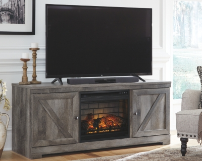 """Winterhaven 63"""" TV Stand with Electric Fireplace"""