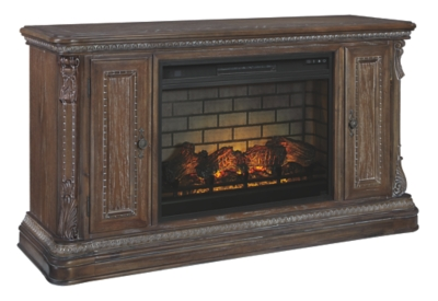 """Chilmore 64"""" TV Stand with Electric Fireplace"""